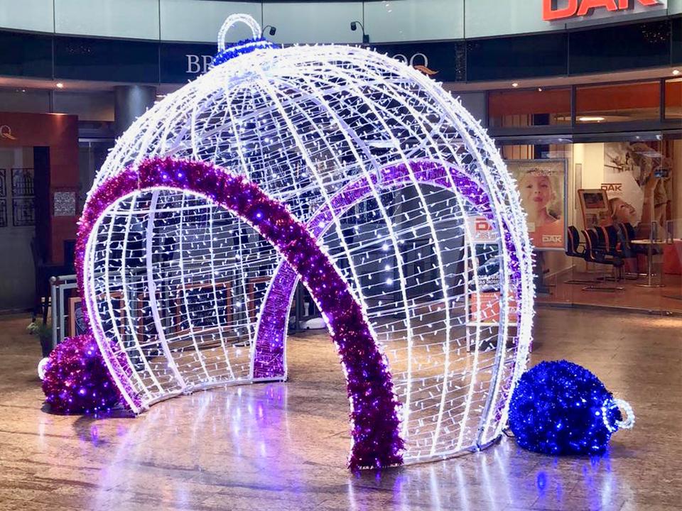LED Weihnachtskugel - Weihnachtsdekoration